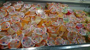 Thạch hoa quả tại siêu thị Aeon